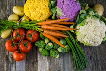Gemüse schonend Garen