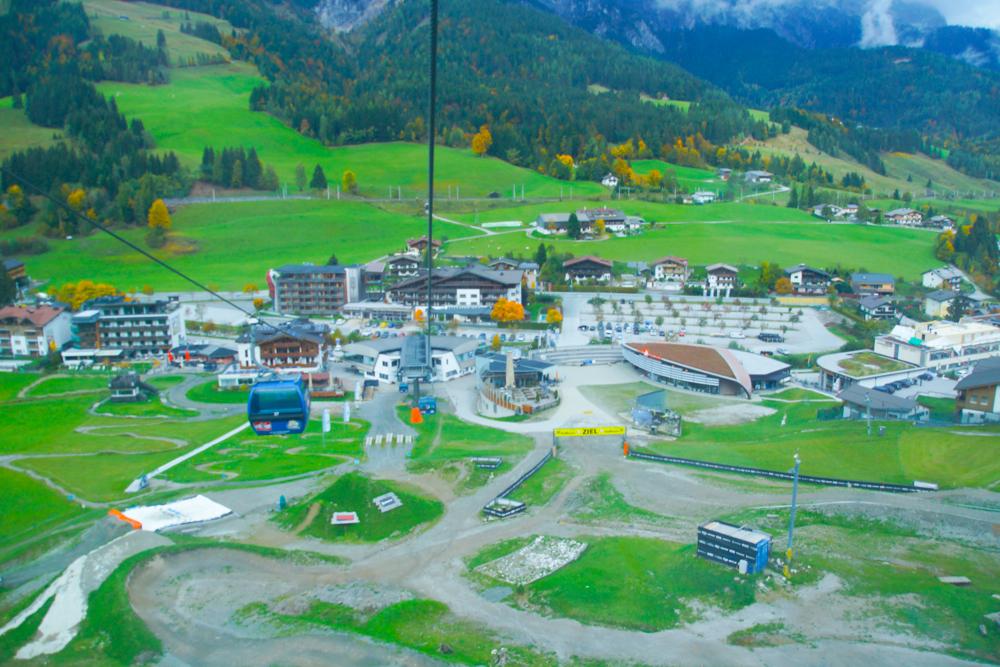 Leogang in Österreich