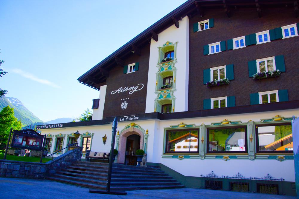 Hotel Arlberg in Lech