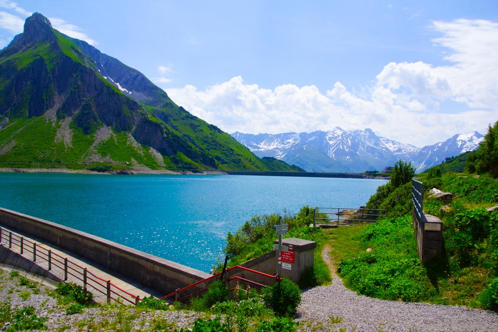 Landschaft rund um Lech