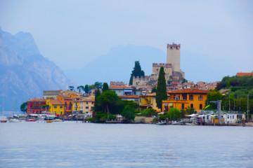 Malcesine und die bekannte Skaliger Burg