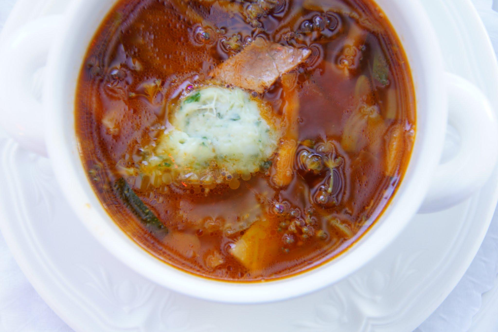 Suppen Zubereiten mit dem James