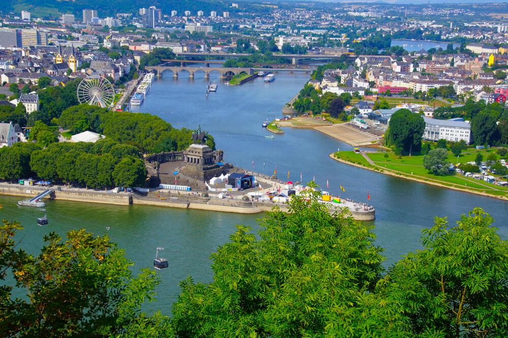 Arosa Flussskreuzfahrt zum Deutschen Eck