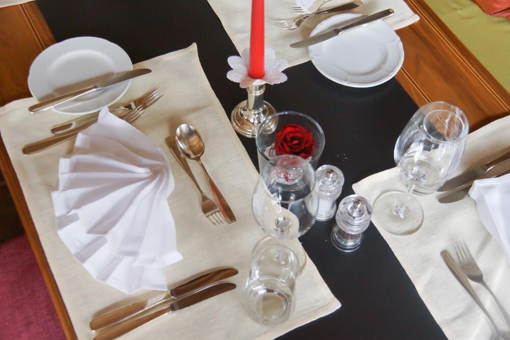 BARGA Restaurant - Tischgedeck