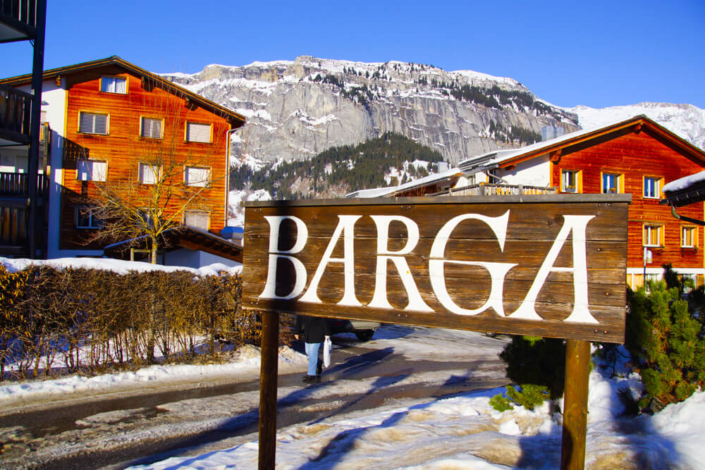 BARGA Restaurant in Flims - Schweiz