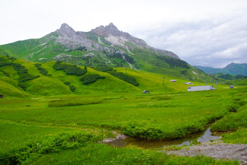 Wanderung durch das blühende Arlberger Land