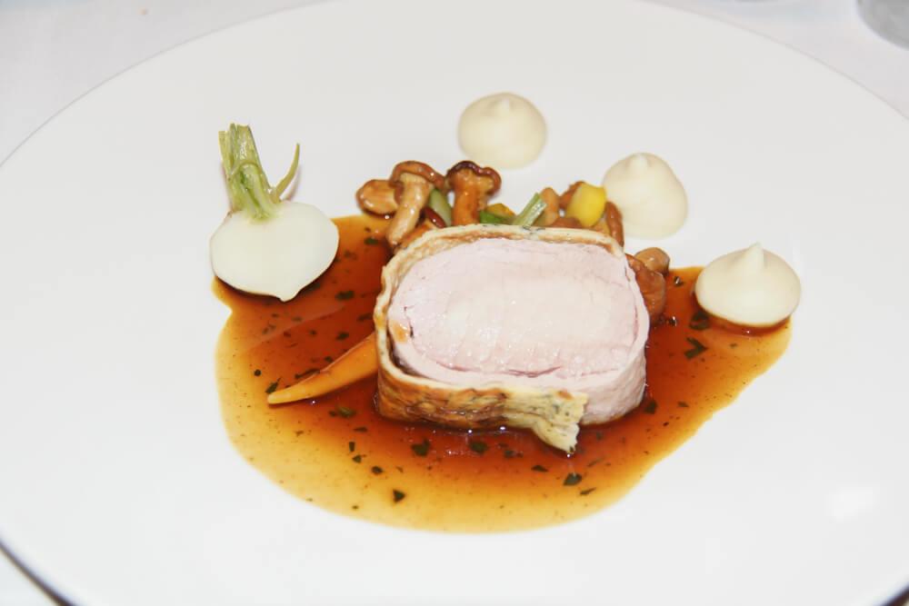 Kochkunstwerke der Arosa Gastköche