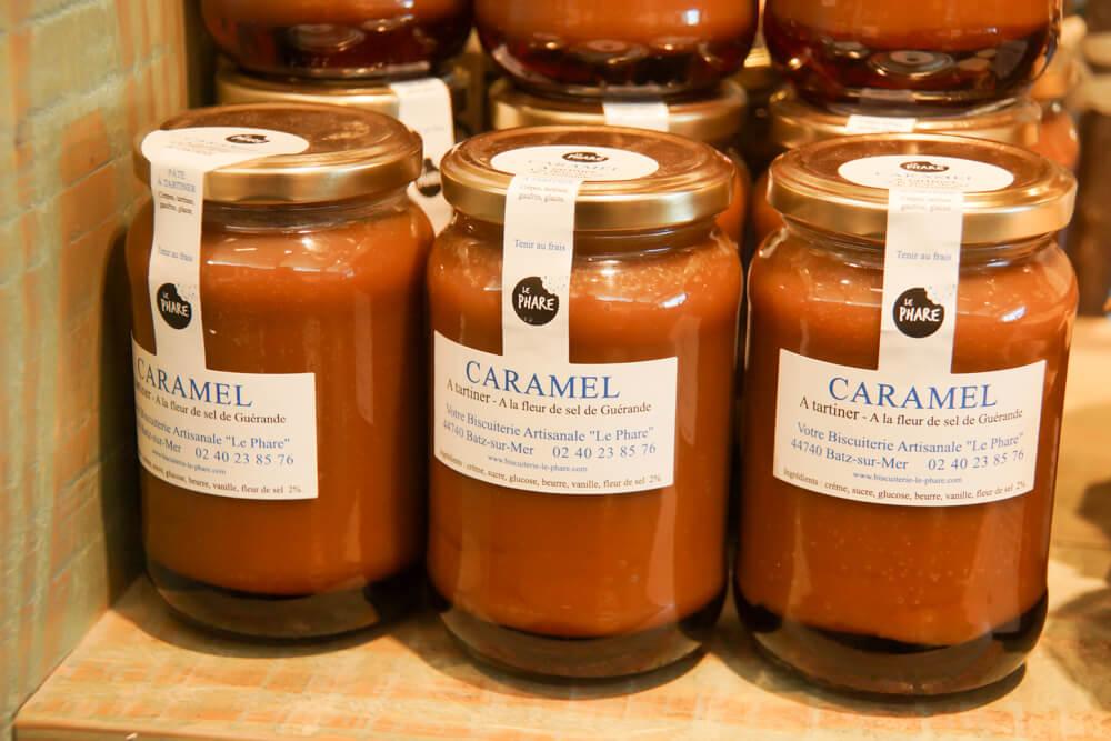 Caramel mit Fleur de Sel