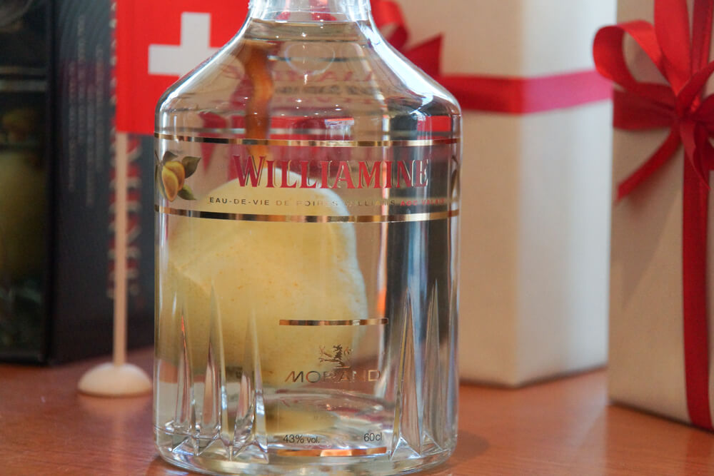 Birnenbrand - Nur echt mit Birne in der Flasche