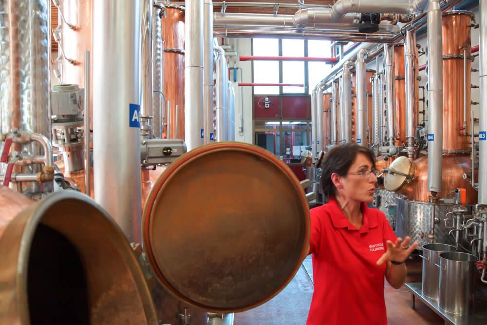 Morand - Distillerie-Rundgang