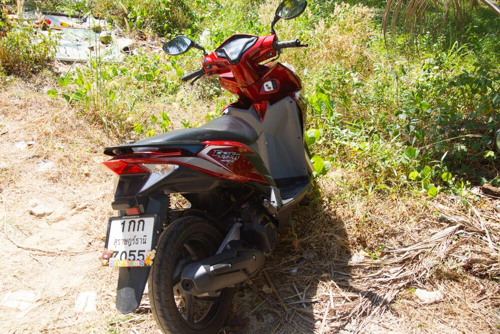 Mae-Haad-Beach-mit-dem-Moped-erreichen
