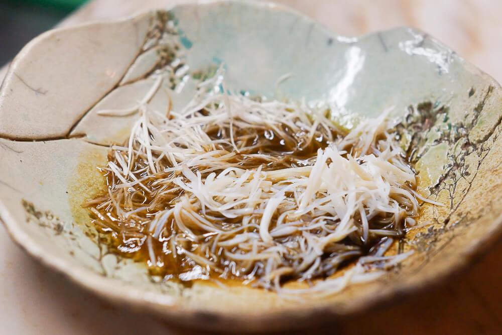 Twins Restaurant Moskau -4 Horsehair Krabbe und Pilze