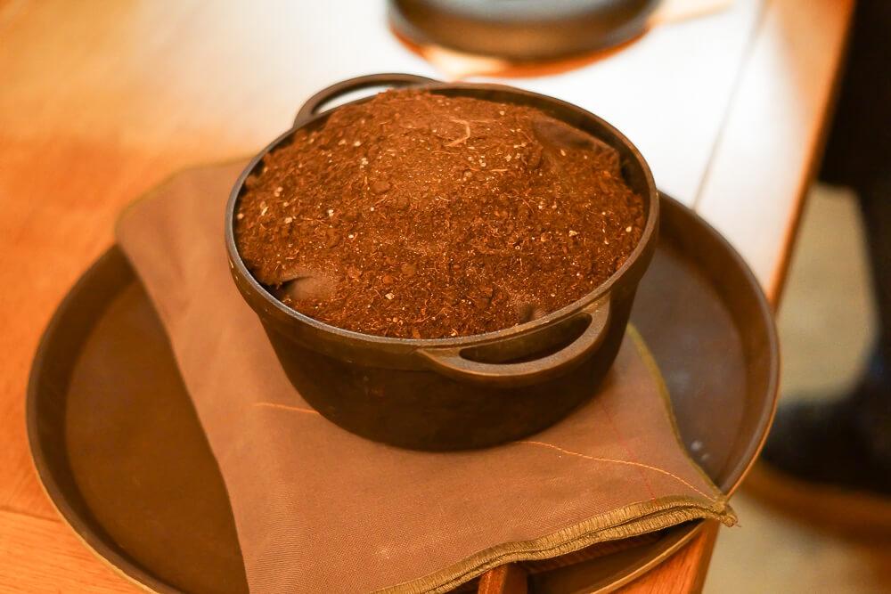 Twins Restaurant Moskau - Brot frisch gebacken