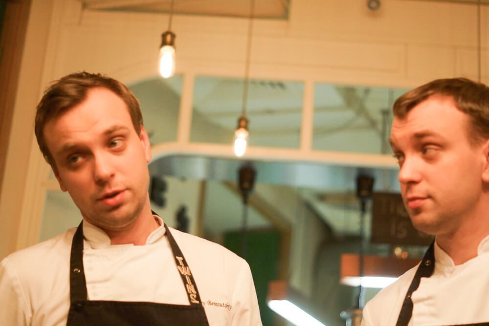 Twins Restaurant Moskau - Iwan und Sergej Beresutskiy