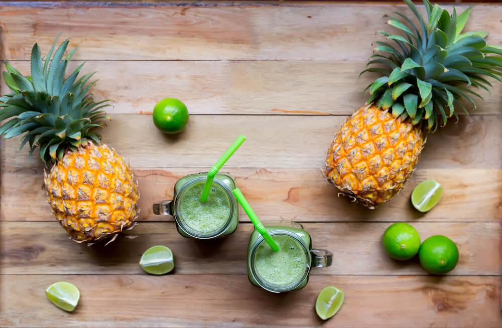Ananas-Bananen Smoothie