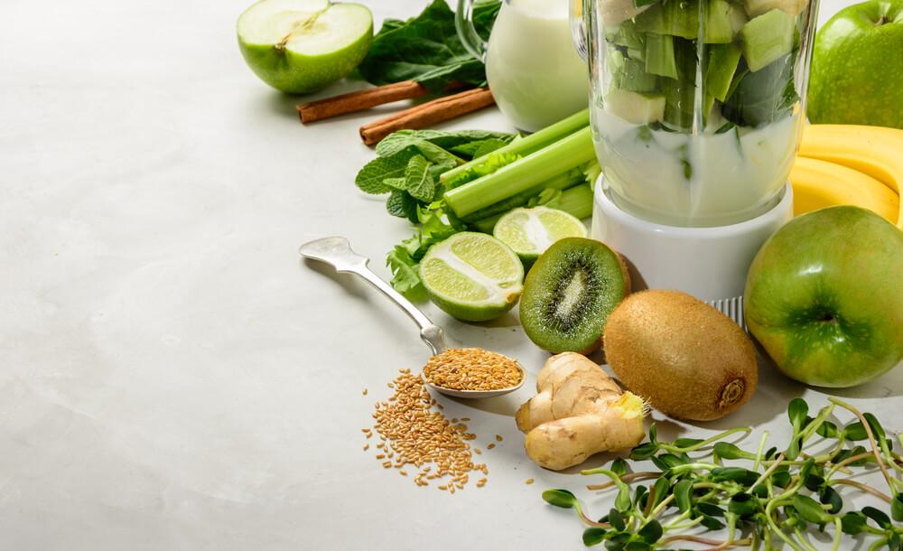 Zutaten für gesunde Smoothies - 3 gesündesten Smoothies