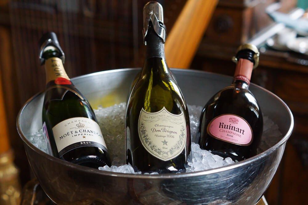 Café Pushkin, Moskau - Champagner Auswahl