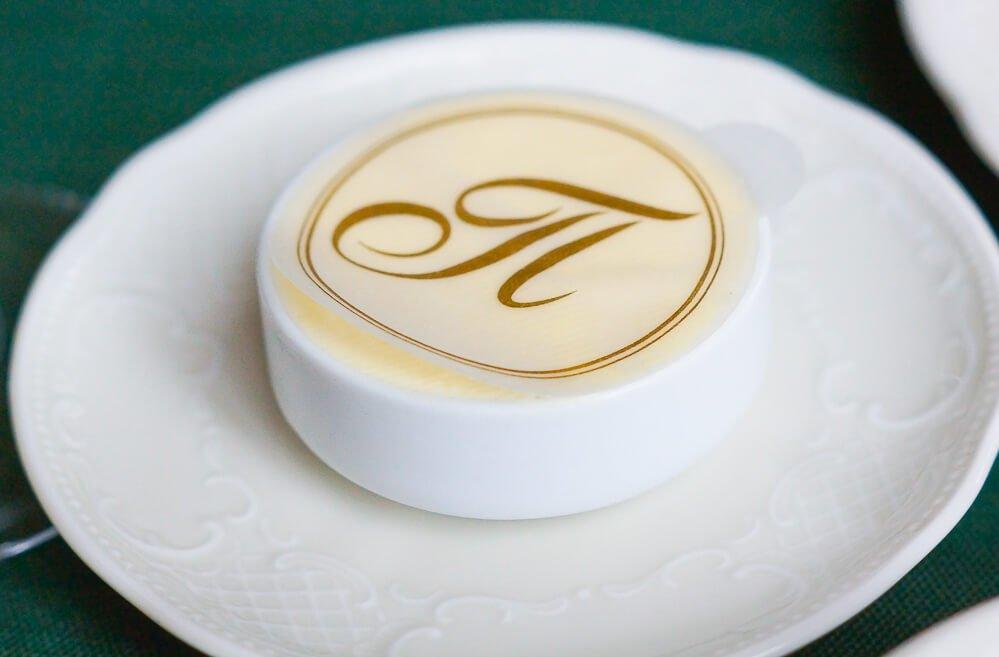 Café Pushkin, Moskau - halbgesalzene Butter