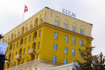 Das Kulm Hotel in St.Moritz