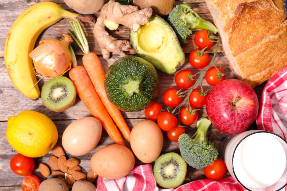 Gute Diät - mehr Gemüse und Protein