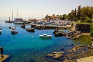 Malerische Buchten Kroatiens