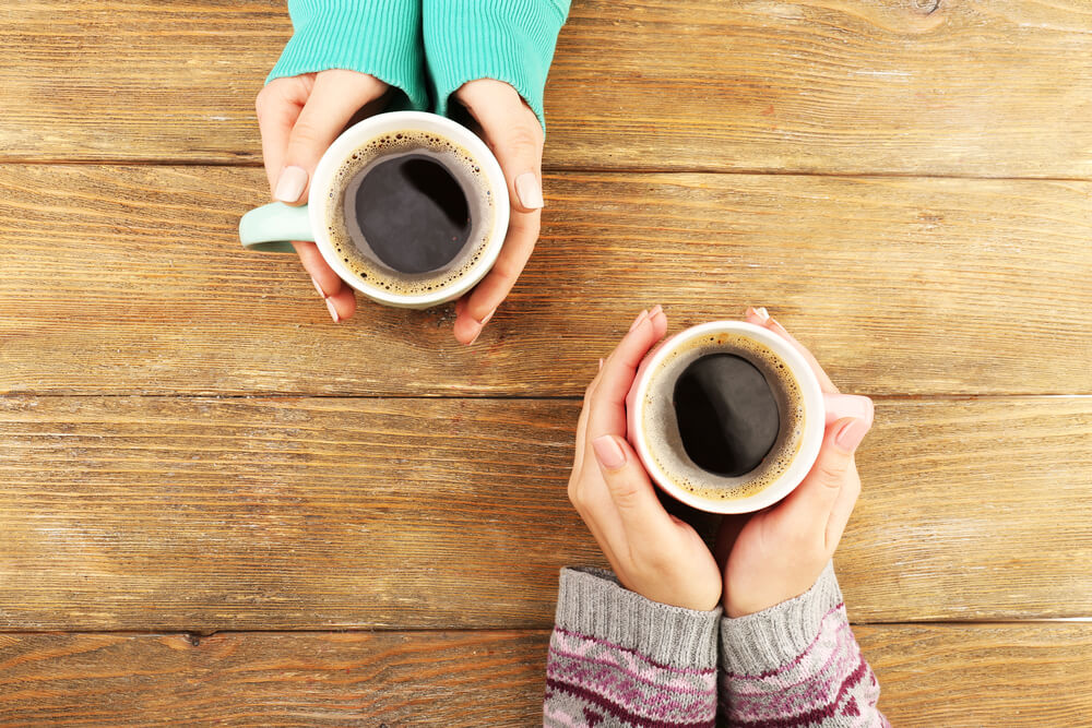 Gourmet-Kaffee oder Wachmacher