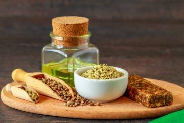 Hanfsamen - Wertvolles Öl für die Küche