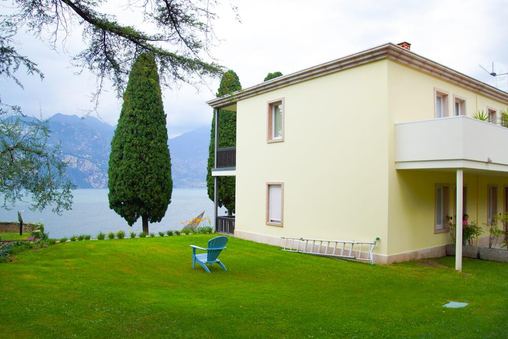 Hotel Bellevue San Lorenzo - Anbau mit Ausblick