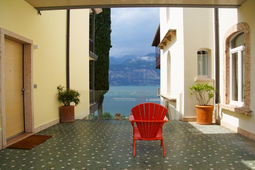 Hotel Bellevue San Lorenzo - Gardasee Blick