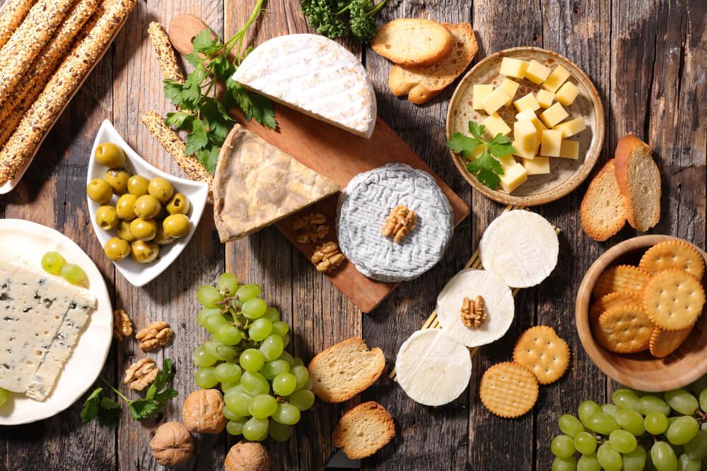 Käseplatte aus dem Piemont