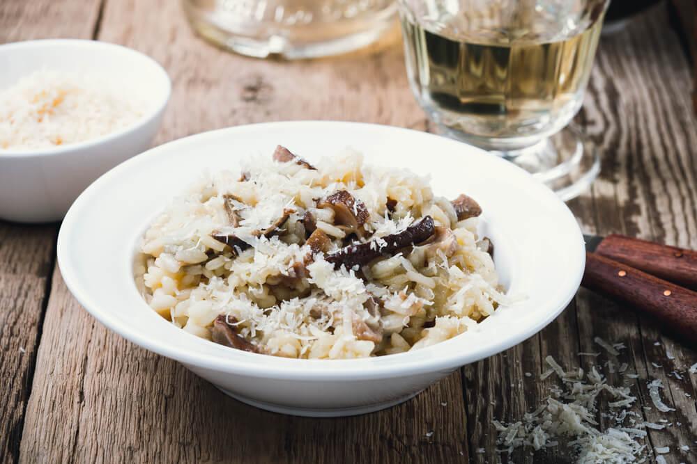 Reis für Risotto aus dem Piemont