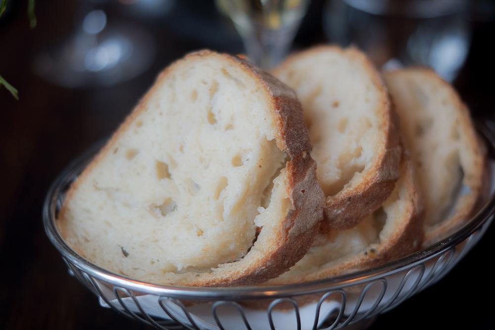 Restaurant Lysverket Bergen - Brot selbst gebacken