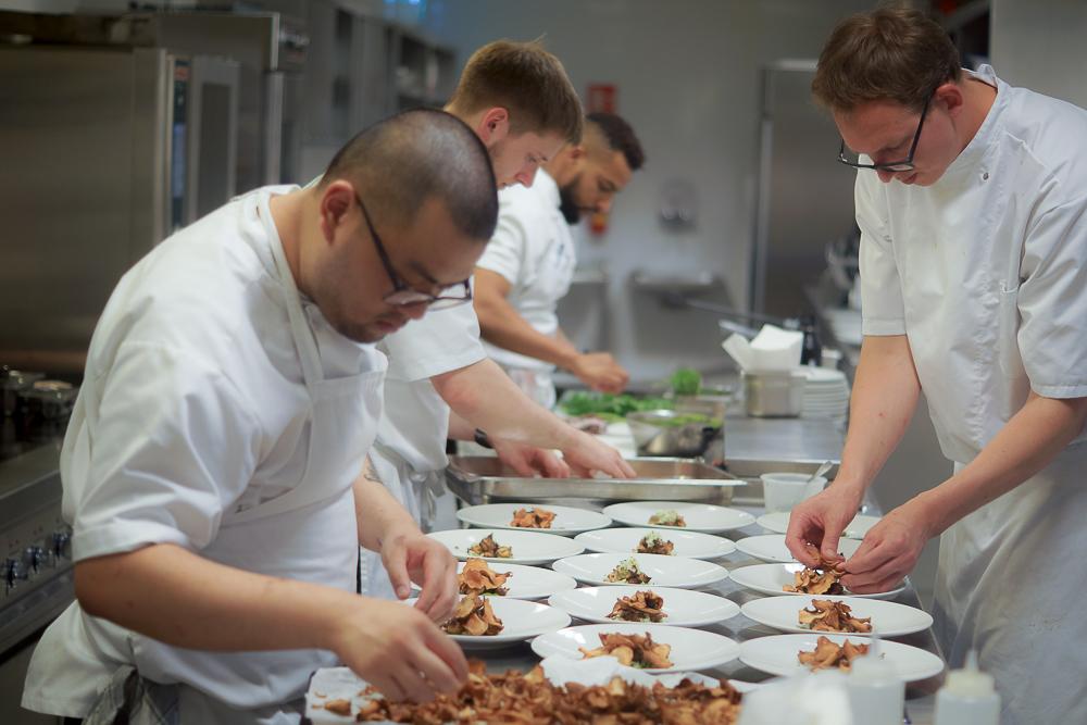 Restaurant Lysverket Bergen - In der Küche