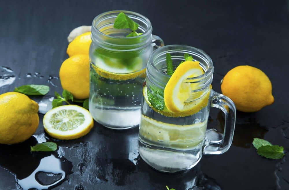 Wassersprudler Sprudelwasser - Veredelt mit Zitrone
