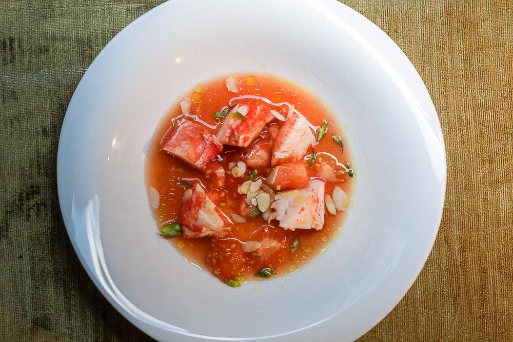 Restaurant Hispania - Hummer und Tomate
