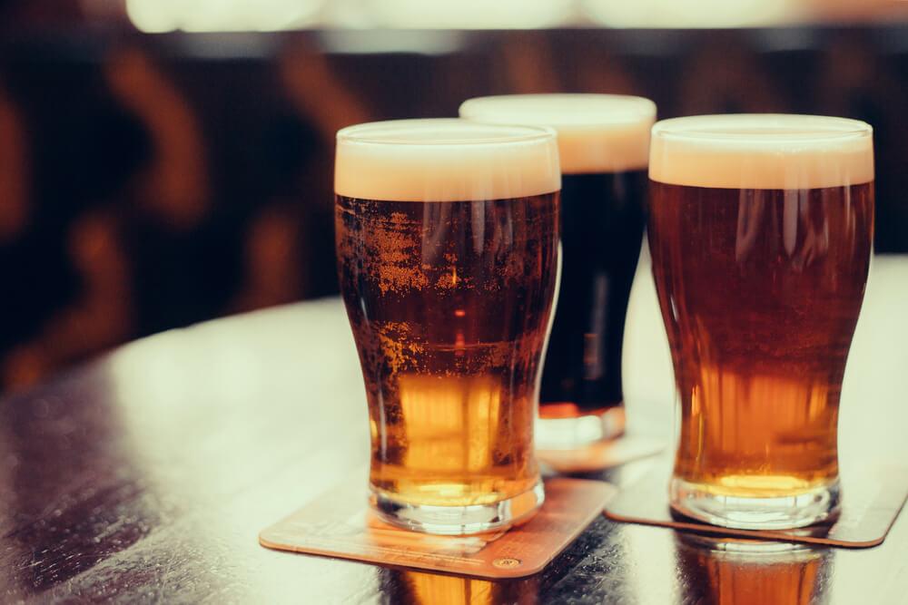 Bier - auch typisch im Elsass