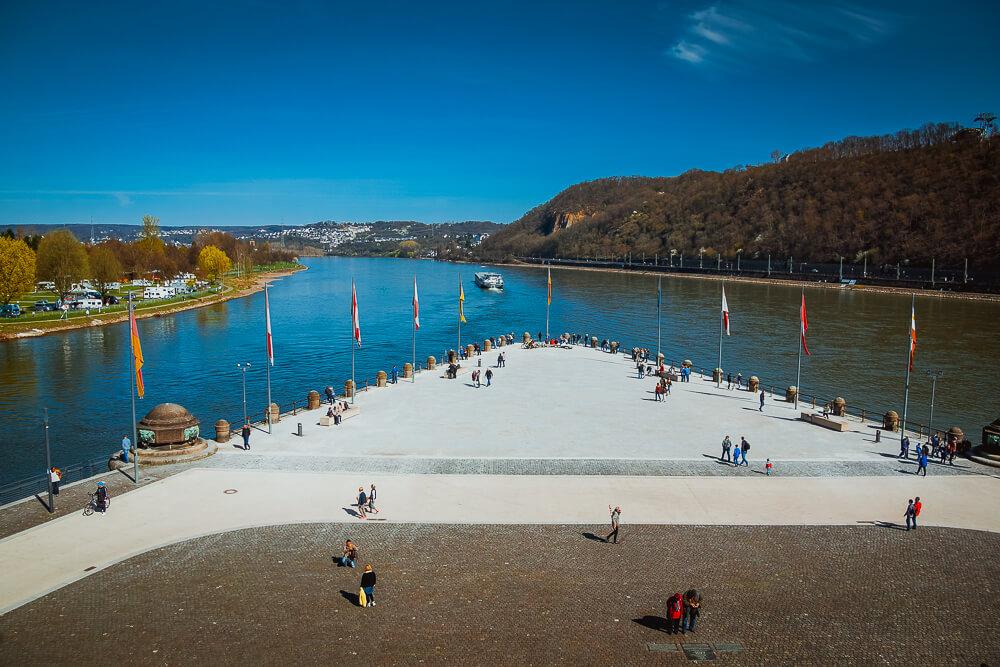 Koblenz und das Deutsche Eck
