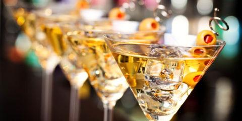 Martini a la James Bond