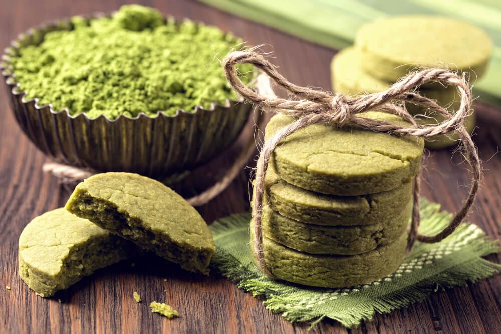 Matcha-Cookies selbst gemacht