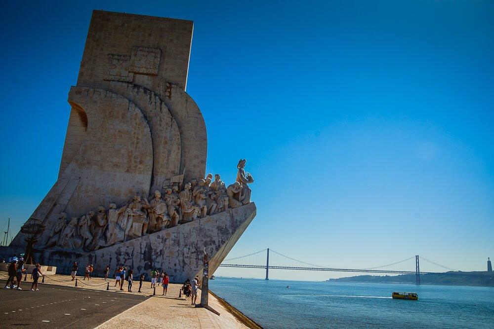 Padrão dos Descobrimentos in Lissabon