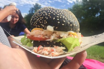 King-Crab Burger - Eine Köstlichkeit