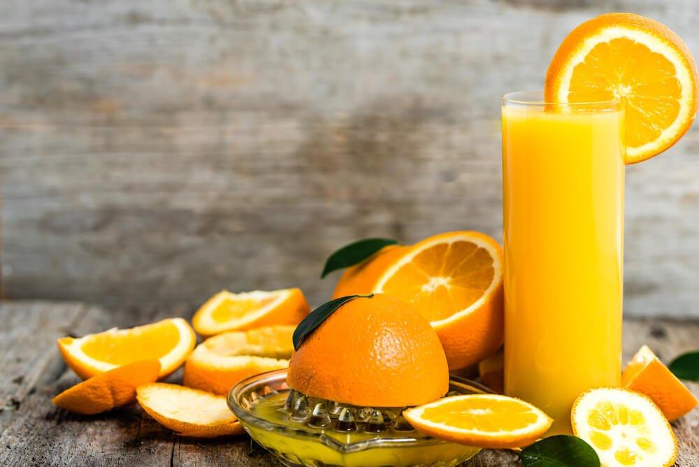 Manuelle Orangenpresse