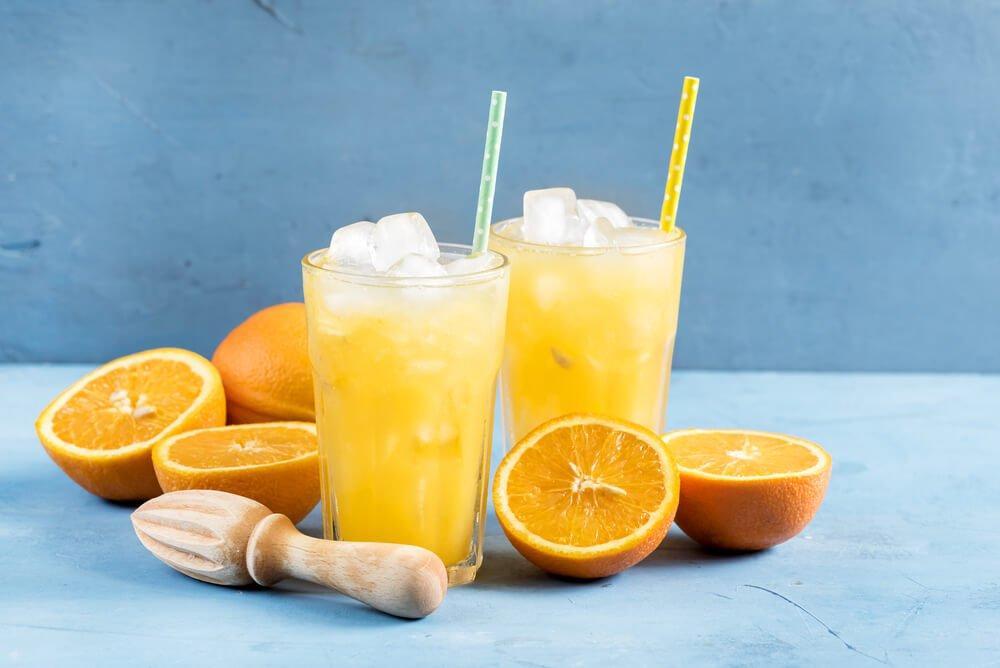 Orangensaft am Morgen - einfach Köstlich