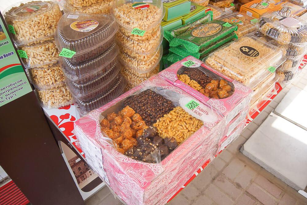Süße Köstlichkeiten aus Kasan