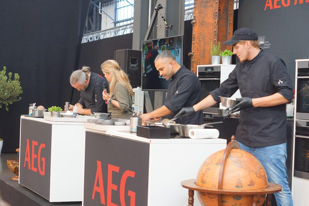 AEG Kochschule auf der Chefsache 2017