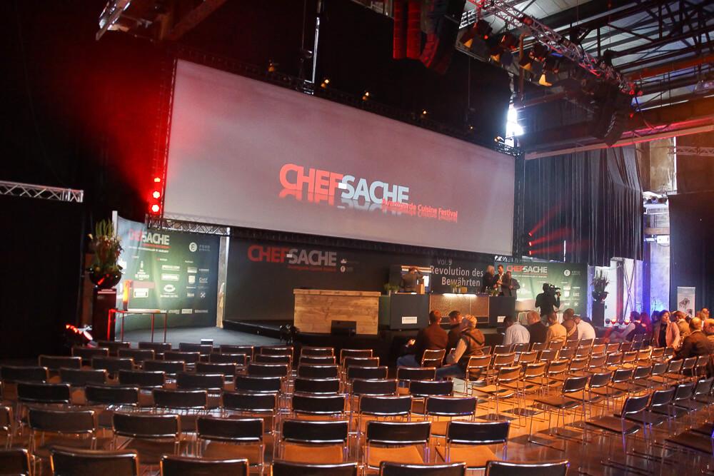 Chefsache 2017 - Die Bühne