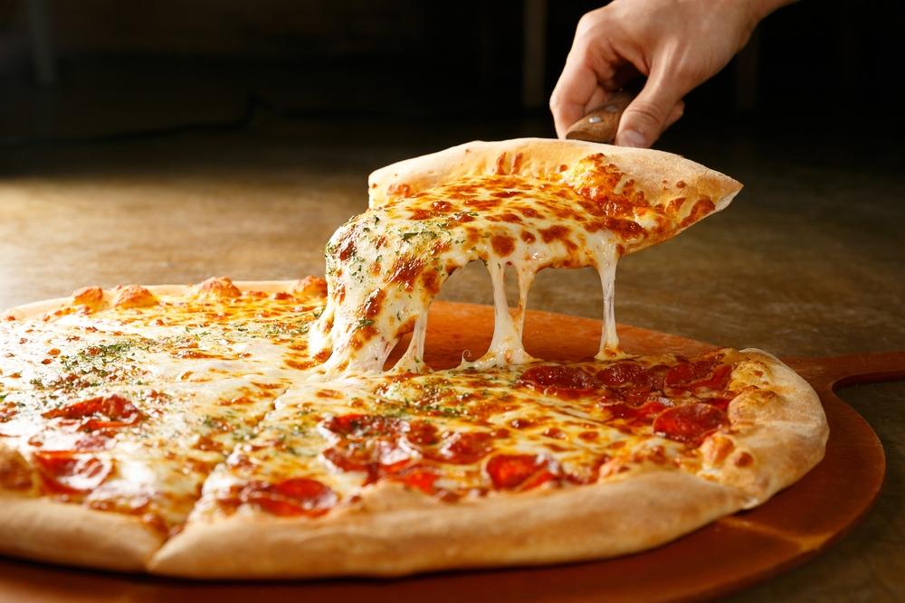 Pizzaaktien immer lecker