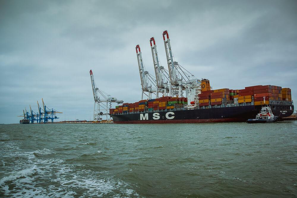 Der Hafen von Le Havre