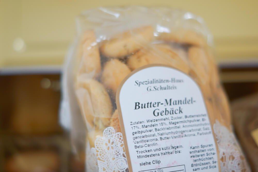 Kiste Herzstück vom Spezialitätenhaus - Butter Mandel Gebäck