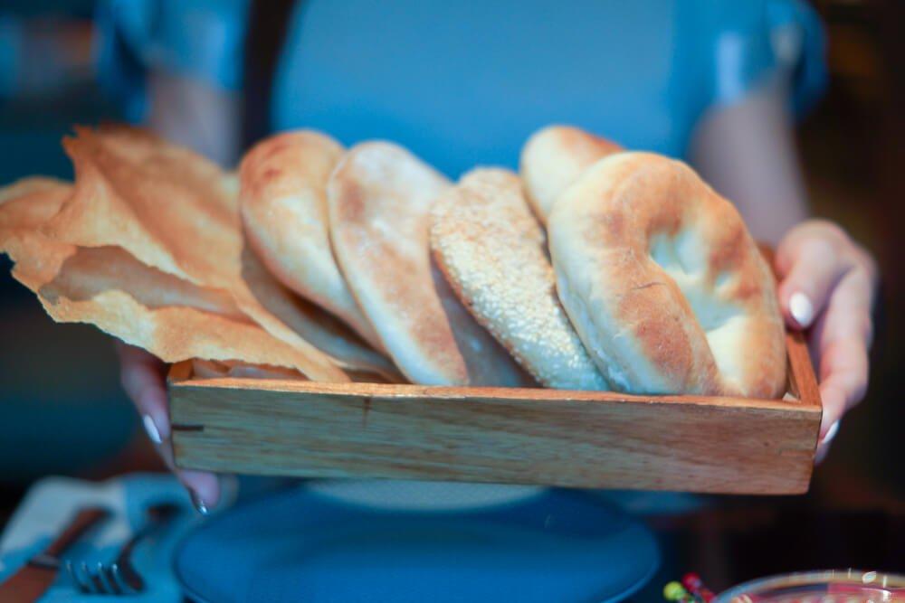 Nofar Restaurant Moskau - Brotspezialitäten vom Feinsten